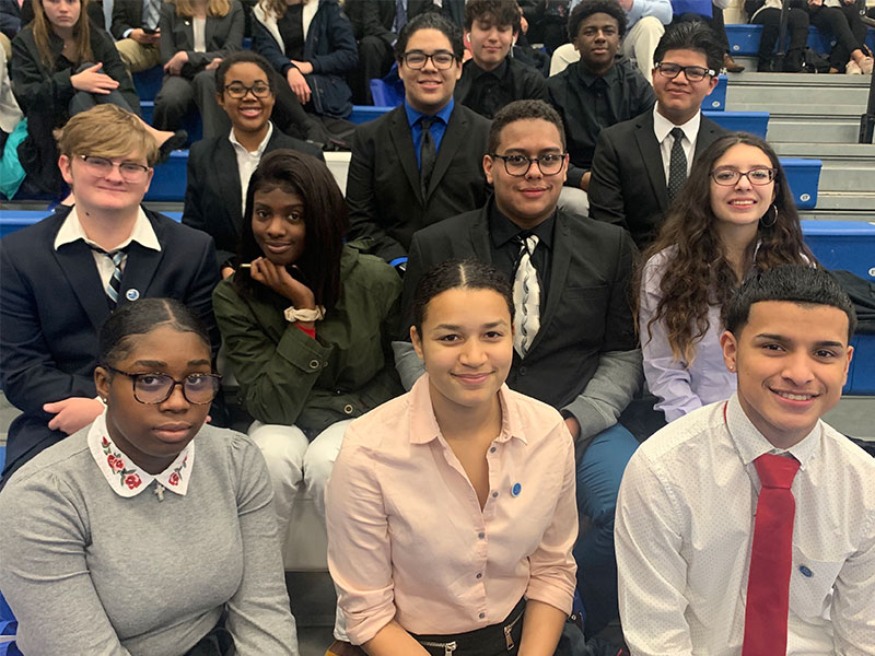 Amityville DECA Garners Multiple Awards