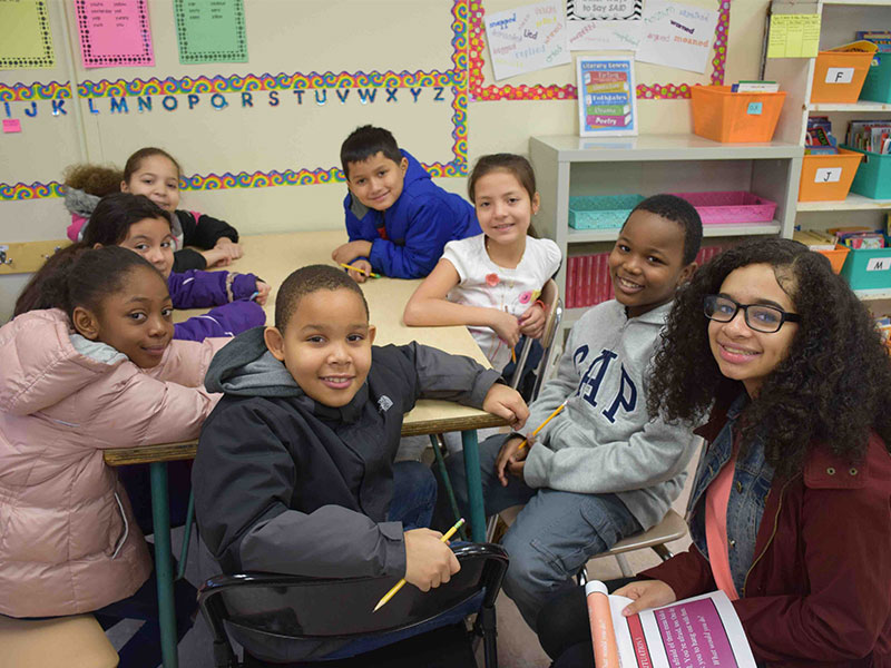 Amityville students bring kindness to their peers