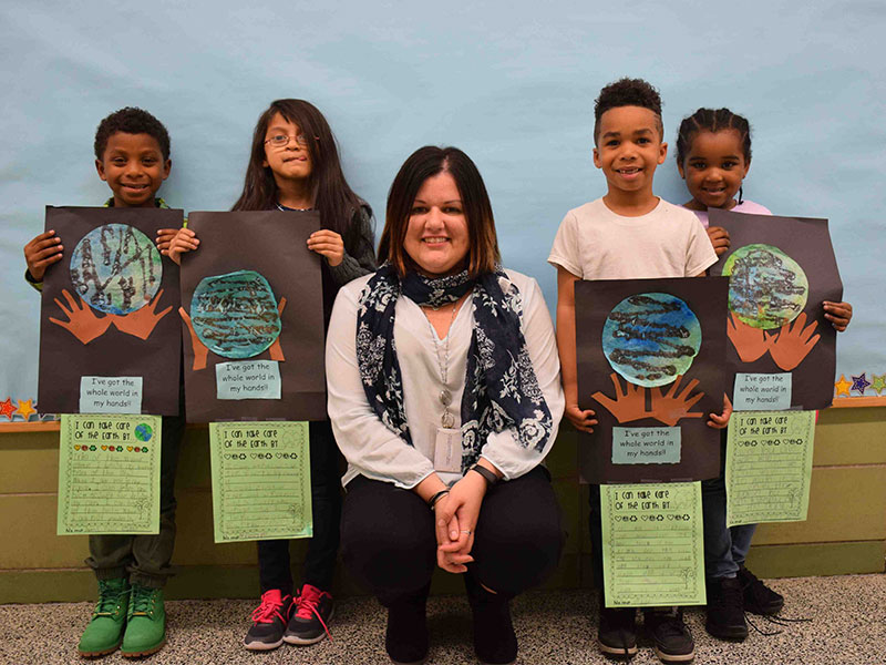 Students Celebrate Earth Day at Northwest