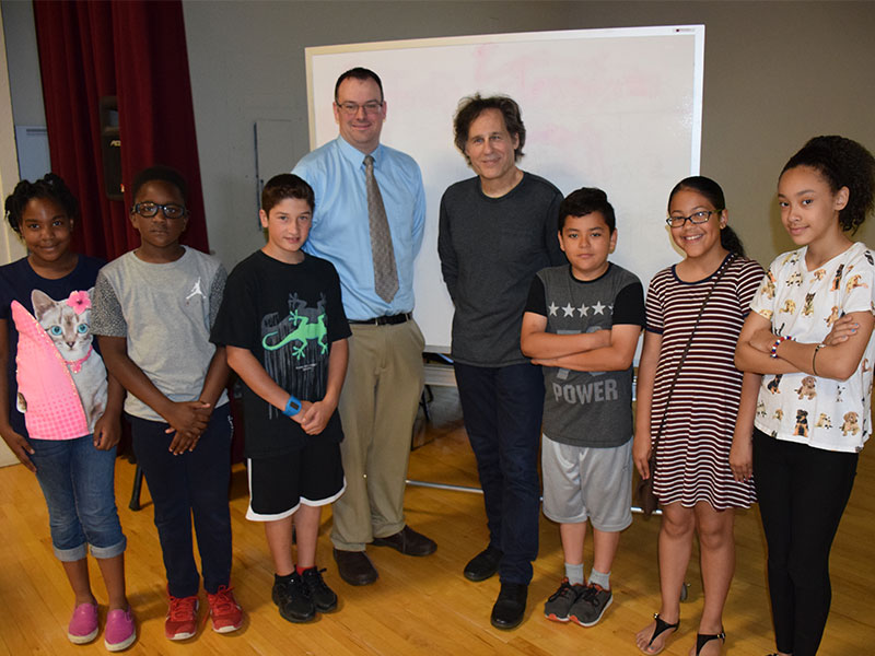 Author Inspires Park Avenue readers and writers