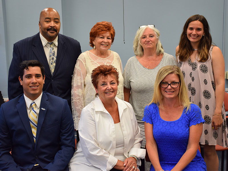 Board Welcomes New Trustee, Installs Officers