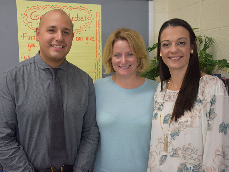 English Teachers Receive Statewide Honors