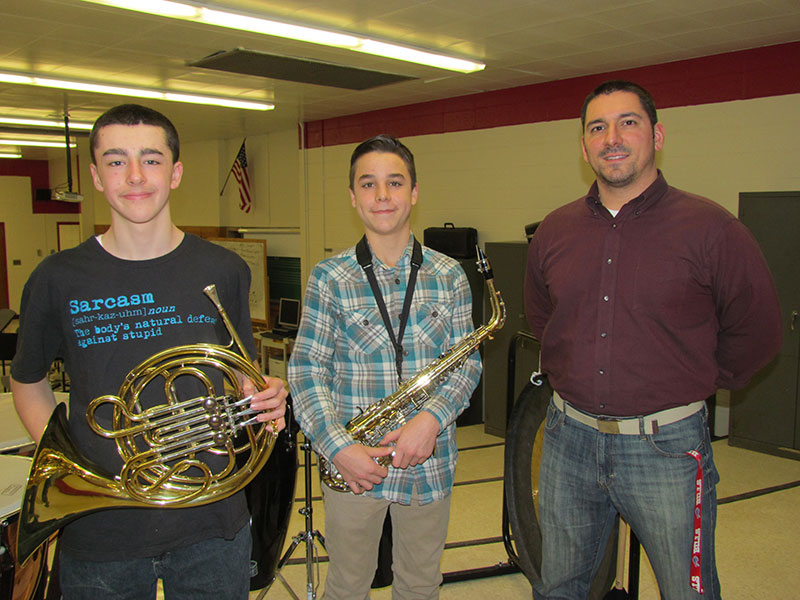 Miles MS Musicians Heard Across the County