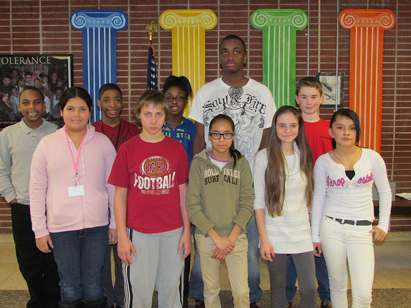 EWMMS Recognizes Warriors of the Month