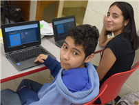 Middle Schoolers Introduced to Coding photo