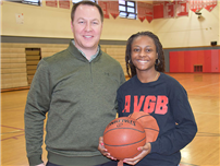Lady Warrior Reaches 1,000-Point Mark