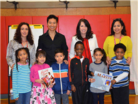 Author Inspires Young Writers at Northwest photo
