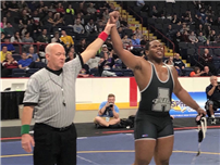 Deonte Wilson Wins State Wrestling Title photo