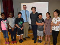 Author Inspires Park Avenue readers and writers photo