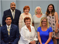 Board Welcomes New Trustee, Installs Officers Photo