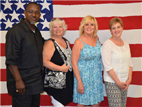 District Recognizes Staff Milestones Photo