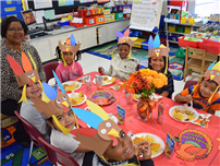 Northeast Kindergartners Feast and Give Thanks photo thumbnail143402